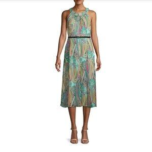 NWT Tommy Hilfiger Womens Paisley Halter Dress